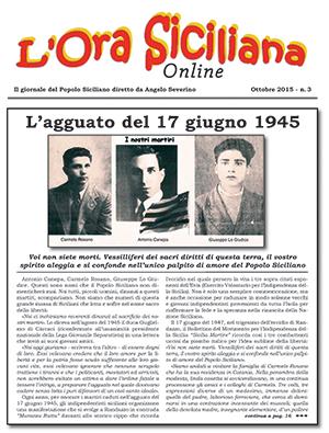 L'Ora Siciliana-Ultimo articolo