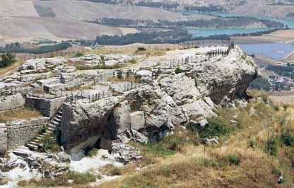 Il tempio di Cerere a Enna