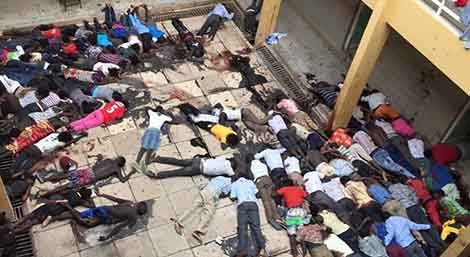 Cristiani massacrati