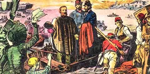 Garibaldi, professione corsaro