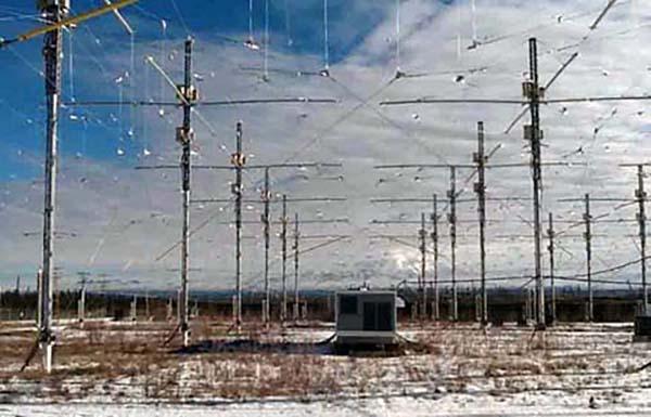 Il sistema antenne haarp