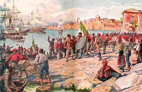 Garibaldi a Marsala