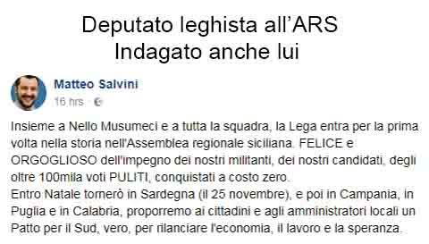 Deputato leghista in Sicilia