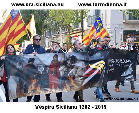 Vespro Siciliano a Palermo 30 marzo 2019