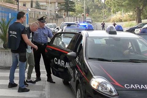 Arresto Rumeni a Enna