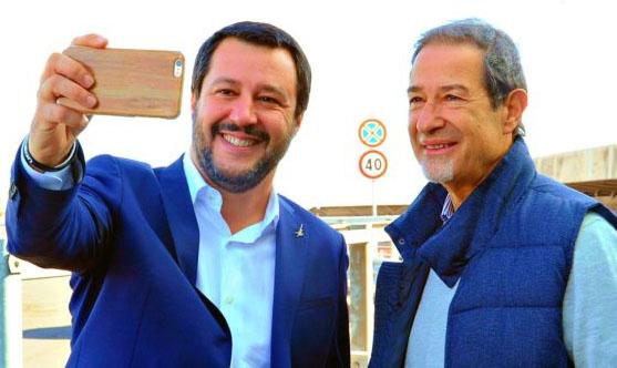 Musumeci e Salvini insieme