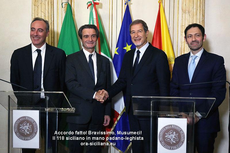 Il 118 Sicilia alla Lombardia