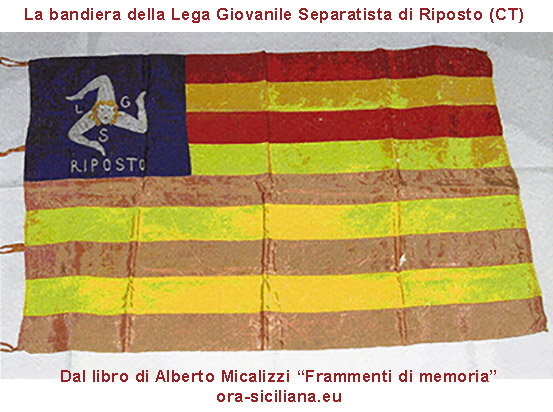 Bandiera Sicilia indipendente