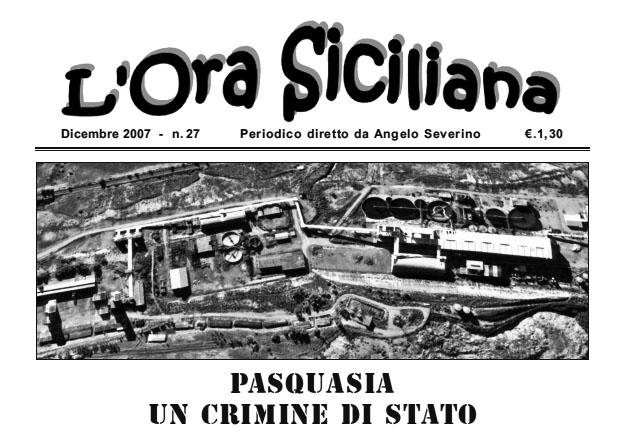 L'Ora Siciliana Dicembre 2007