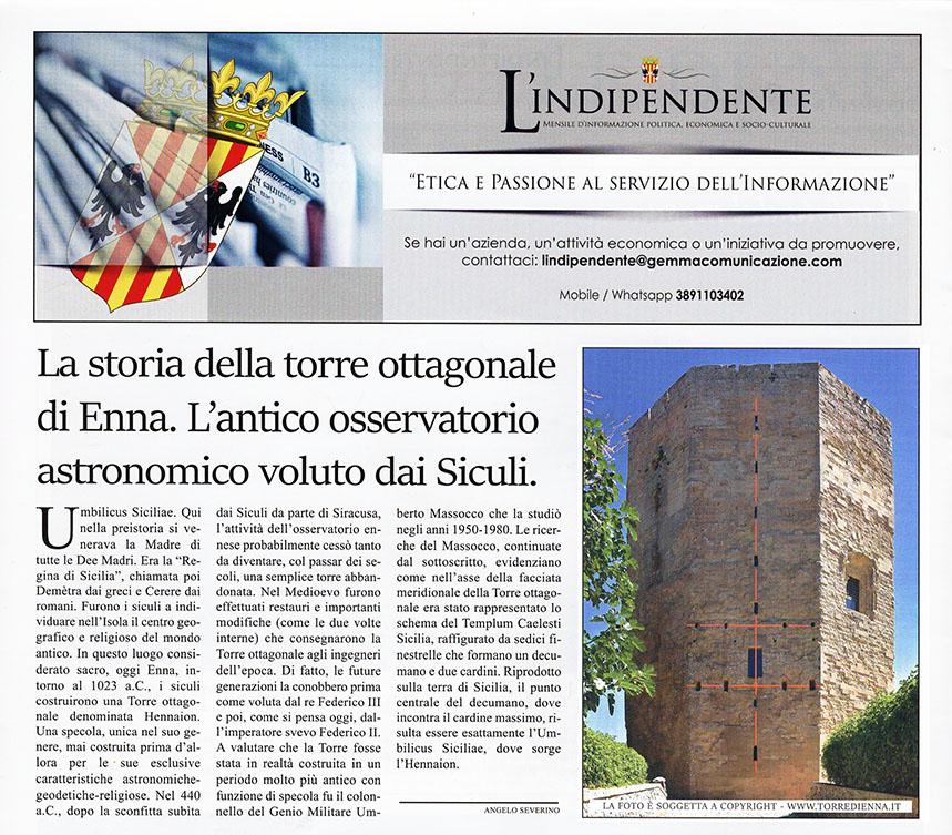 Torre ottagonale di Enna
